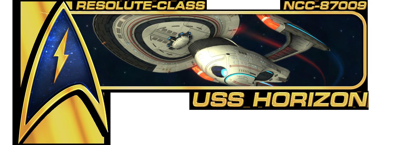 USS Horizon banner